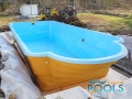 pooler glasfiber pool installationen 102