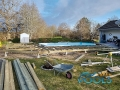 pooler glasfiber pool installationen 107