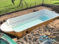 pooler glasfiber pool installationen 123