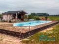 pooler glasfiber pool installationen 110